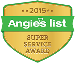 Angie's List Super Service Award 2015